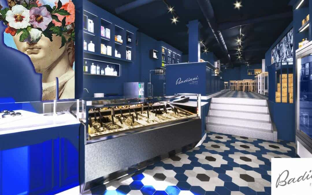 Badiani Gelato London: Intruder, Fire and CCTV System Installation